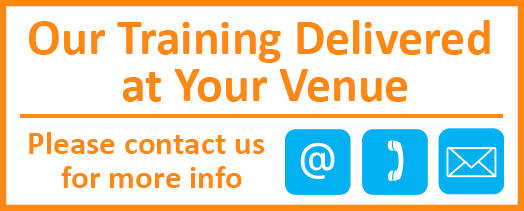 Training delivered at your venue 2
